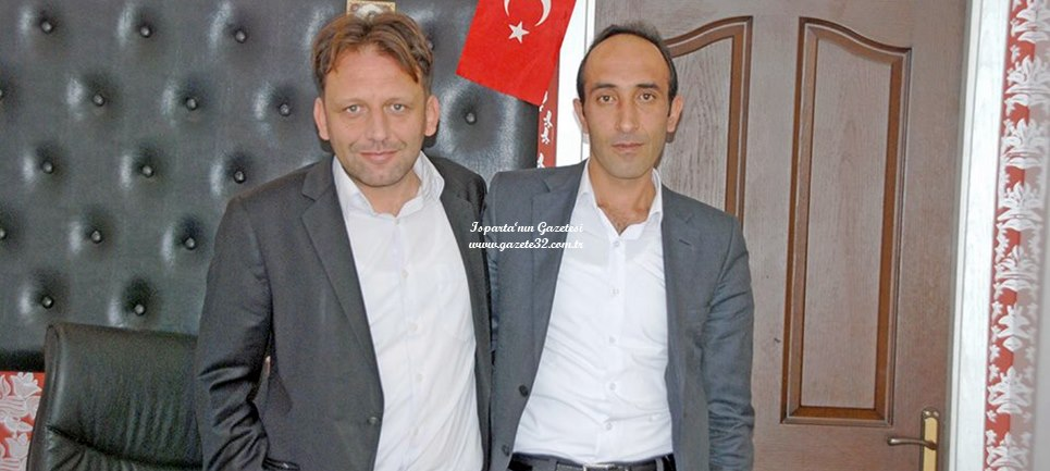 Isparta Haksena Mantolama Uygulama Merkezi ortakları Faruk Zerek ile Mustafa Hakan Kayacan