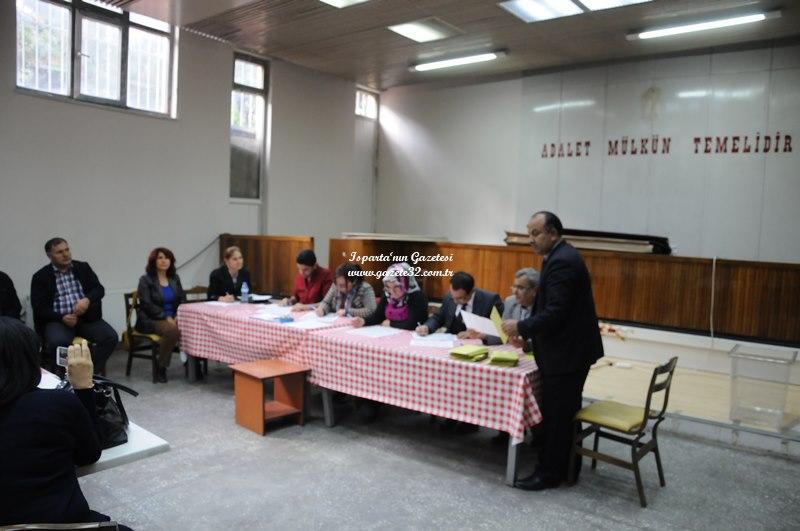 Isparta'da HSYK Adli Yargı Sonuçları
