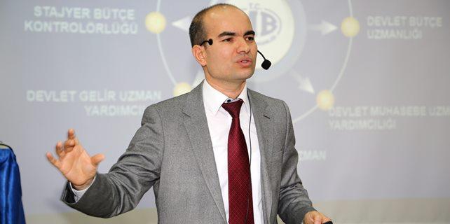 Prof. Dr. Ersan Öz SDÜ'de Konferans verdi