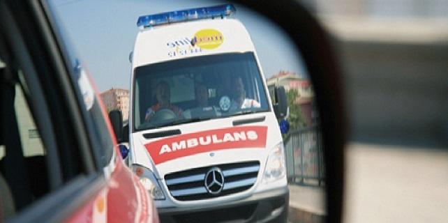 Dereboğazı yolunda kaza : 20 yaralı