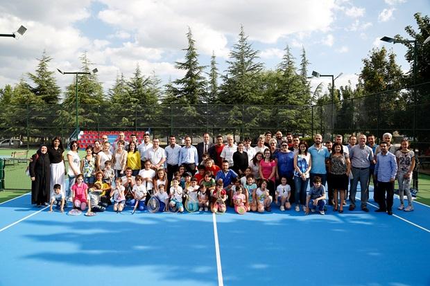 Tenis Kort Açılış-1