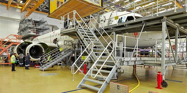 İkinci Uçak Bakım Hangarı açıldı