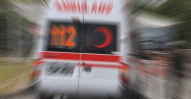 Keçiborlu'da feci kaza