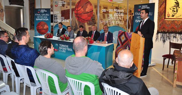 Türkiye Basketbol 2. Ligi Final Grubu basın toplantısı