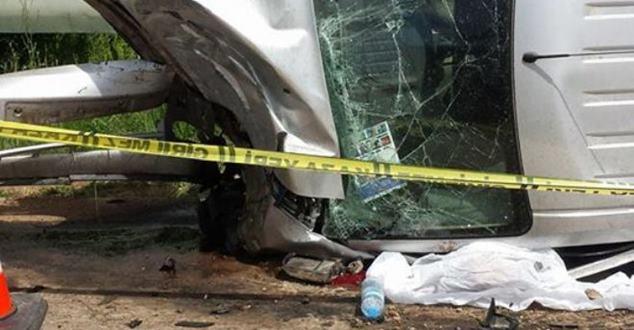 Gelendost'ta trafik kazası : 1 ölü
