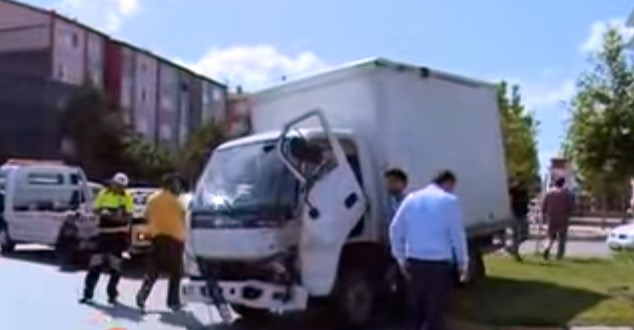 Isparta'da trafik kazası : 4 yaralı
