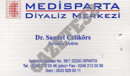 Medisparta Diyaliz Merkezi