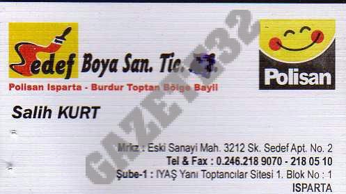 Sedef Boya San. Tic