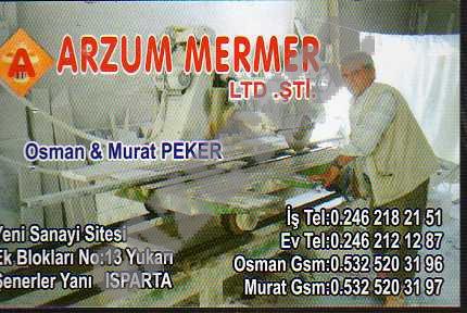 Arzum Mermer