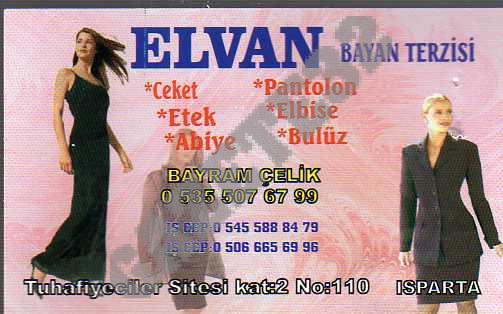 Elvan Bayan Terzisi