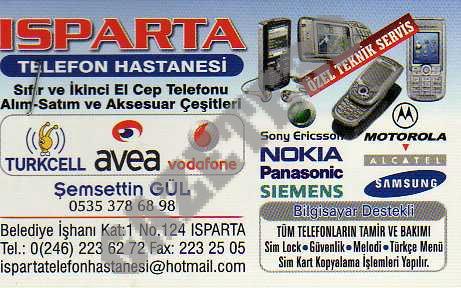 Isparta Telefon Hastanesi