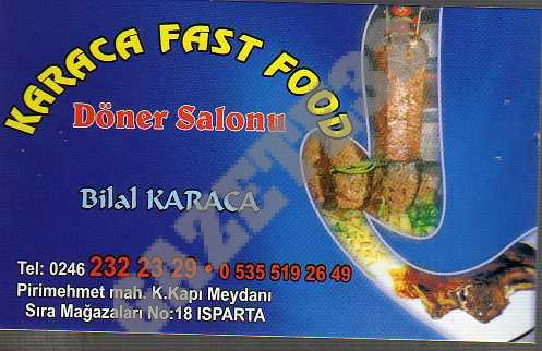 Karaca Fast Food