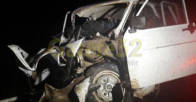 Isparta'da trafik kazası : 12 yaralı