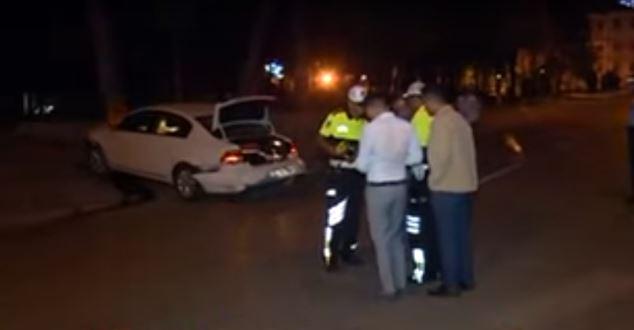 Isparta'da trafik kazası : 3 yaralı