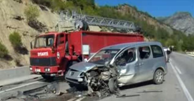 Trafik kazası : 7 yaralı