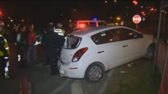 Çünür kavşağında kaza : 2 yaralı
