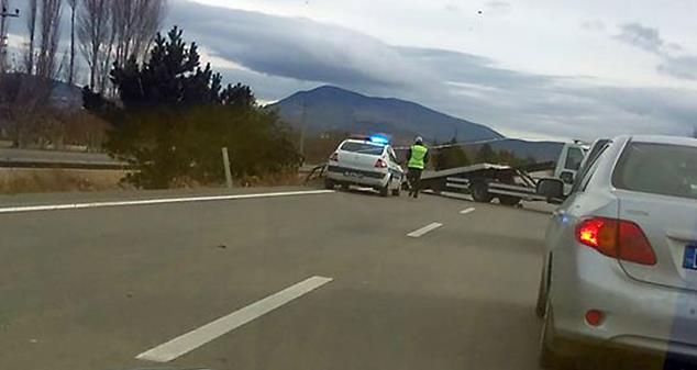 Eğirdir yolunda feci kaza : 1 ölü