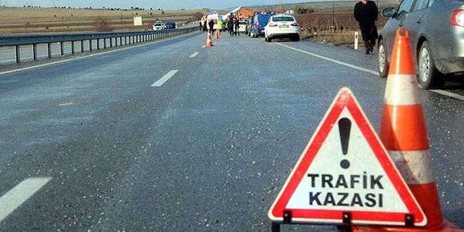 Gelendost'ta trafik kazası
