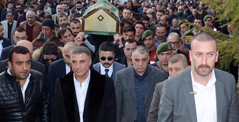 Sedat Peker cenaze için Isparta'ya geldi