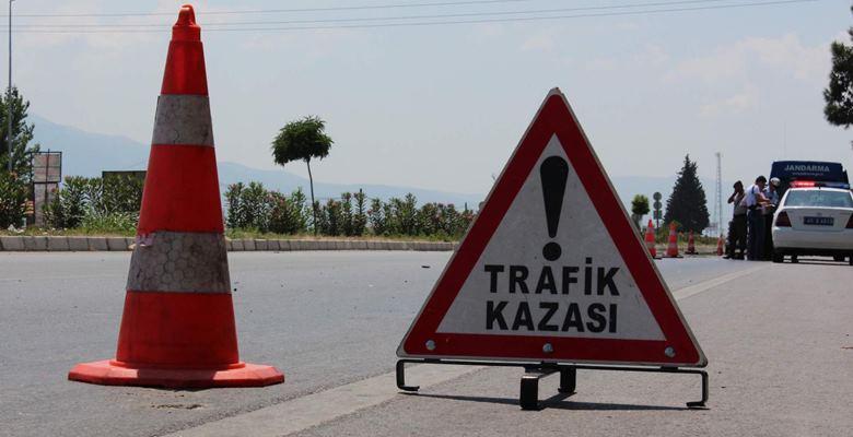 Trafik kazası :  4 yaralı