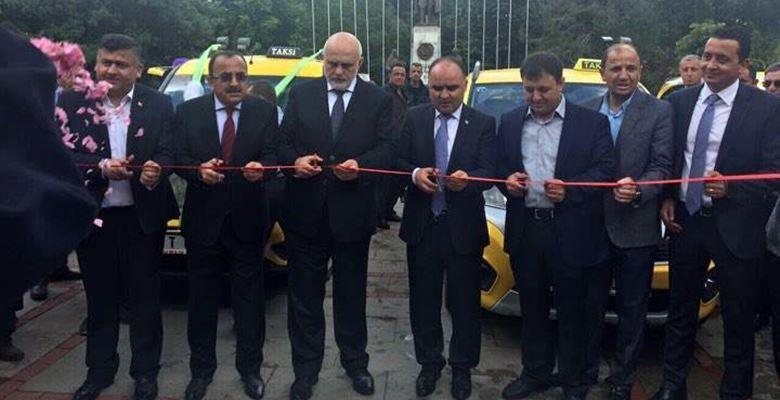Isparta'da 100 ticari taksi yenilendi