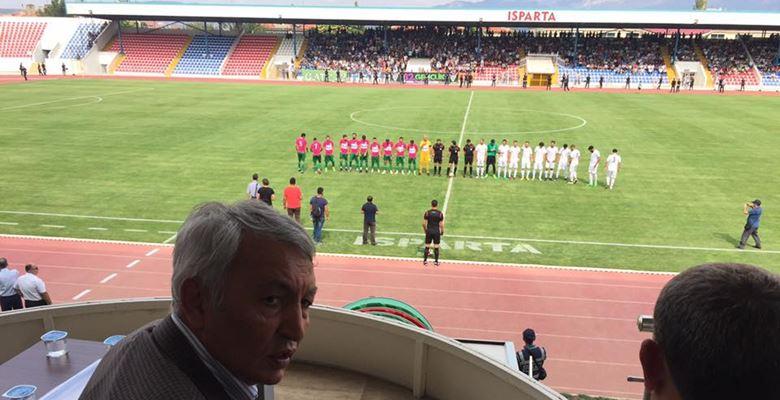 Isparta Davrazspor Türkiye Kupası'na veda etti
