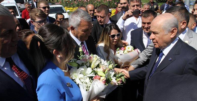 MHP lideri Bahçeli Isparta'da (Foto Galeri)