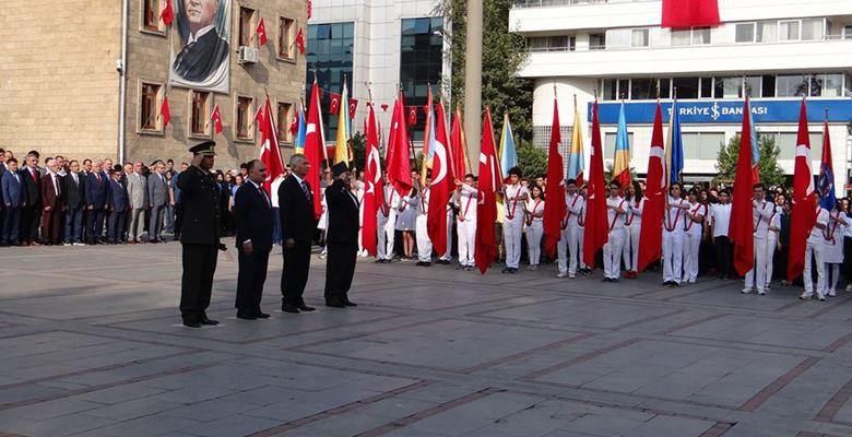 19 Eylül Gaziler Günü Isparta'da törenle kutlandı