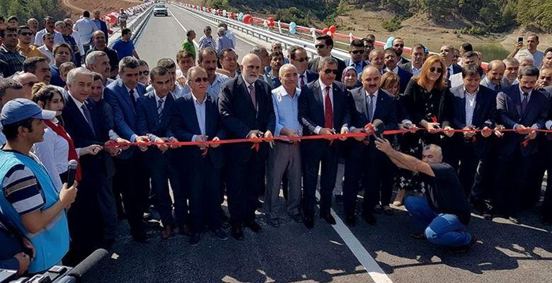 Melikler Köprüsü açıldı