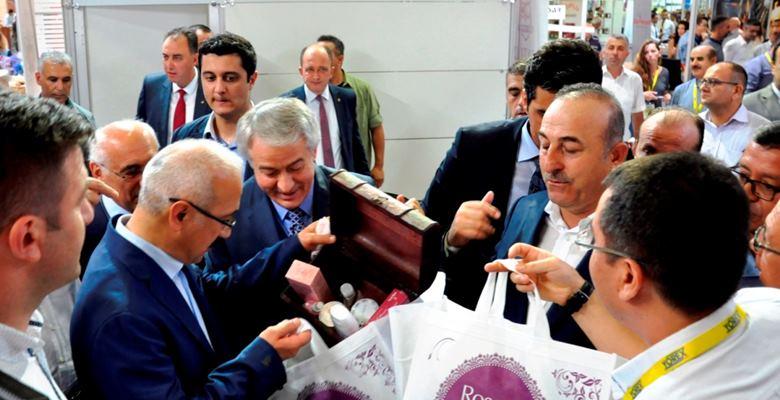 Batı Akdeniz Yöresel Ürünleri YÖREX'de tanıtıldı