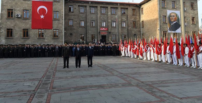 Isparta'da Atatürk'ü anma programı
