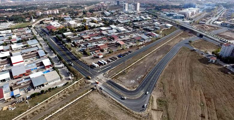 Yeni Otagara ulaşım yolları açılıyor