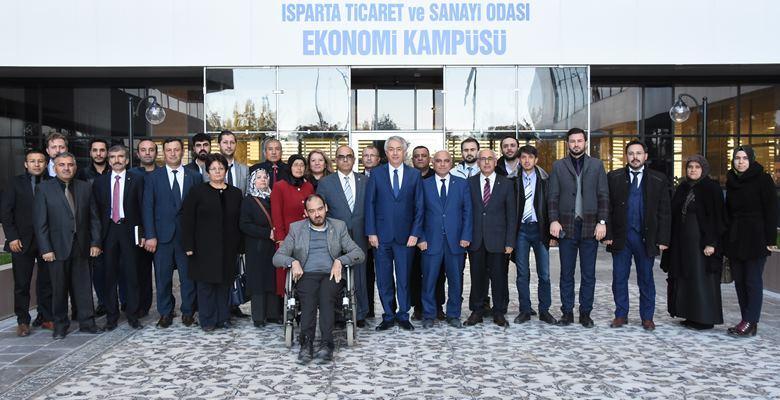AK Parti'den ITSO'ya ziyaret