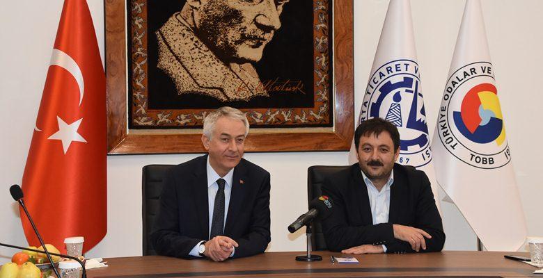 AK Parti ve CHP'den ITSO'ya ziyaret