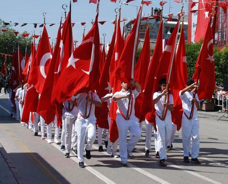 Isparta'da 30 Ağustos Zafer Bayramı coşkuyla kutlandı