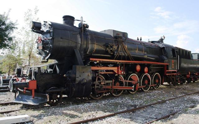 Isparta-Eğirdir arası nostaljik tren seferi