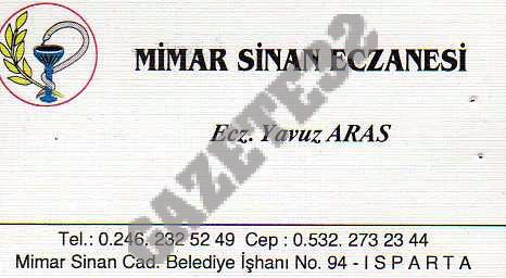 Mimar Sinan Eczanesi