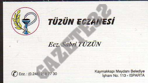 Tüzün Eczanesi