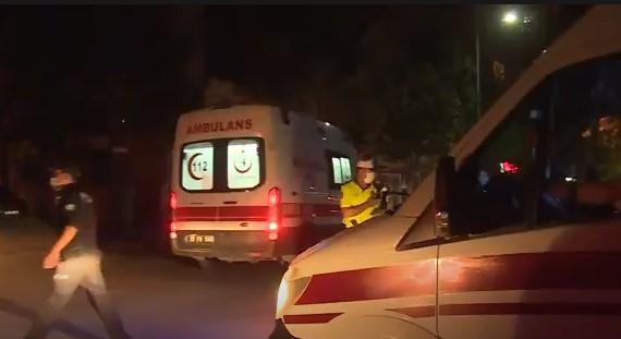 Otomobiller çarpıştı. kazada 2 kişi yaralandı