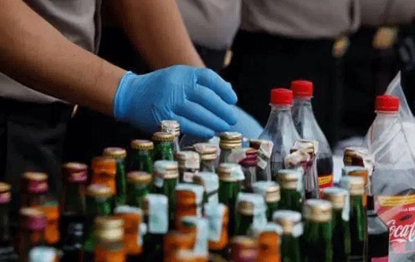 Isparta'da sahte alkol operasyonu