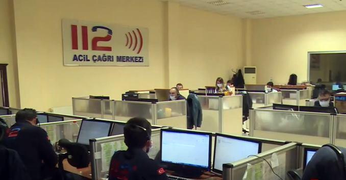 Acil Çağrı Merkezi 31 bin 876 kez gereksiz arandı