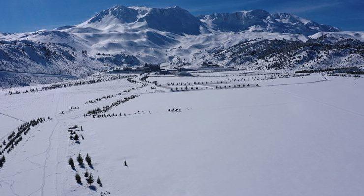 Davraz'da Kar Kalınlığı 47 Santimetre
