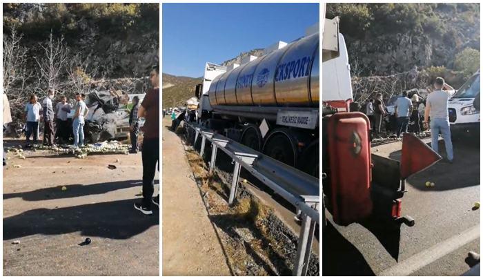 Isparta'da Trafik Kazası :  1 Ölü, 6 Yaralı